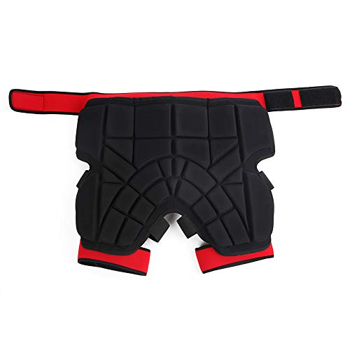 DYHQQ Butt Hip Pad Schutz Shorts Ski Snowboard Snowboard Shorts Gepolsterte Snowboard Skating Gear Guard Protector,M