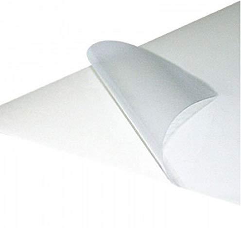 100 Blatt Haftpapier A4 satiniert - 100 Etiketten DIN 4