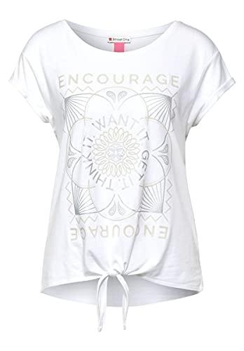Street One 316515 Camiseta, Blanco, 48 para Mujer