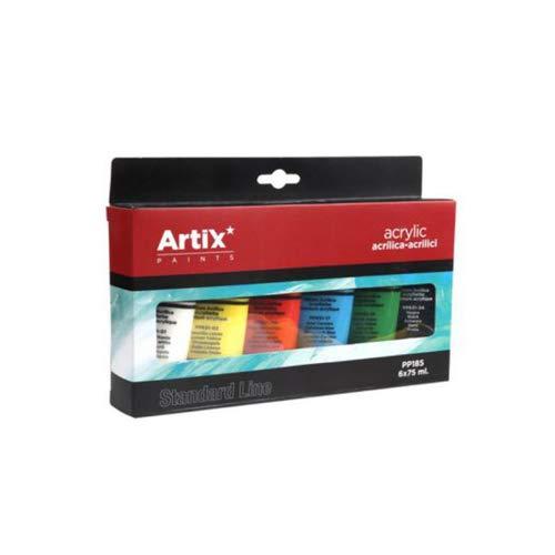 Pinturas acrílicas Standard, amplia gama de colores. Tubos
