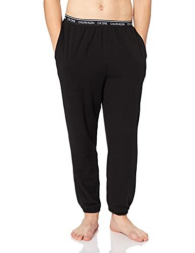 Calvin Klein Herren Jogger Schlafanzughose, Black 66E, Small