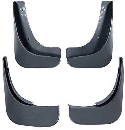 4pcs Coche Faldillas Antibarro para VW Touran Caddy 2004-2010, Delantero Trasero Salpicaduras Mud Flaps Resistentes Desgaste Protección Accessories