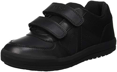 Geox J Arzach Boy E School Uniform Shoe, Schwarz (Black), 30 EU