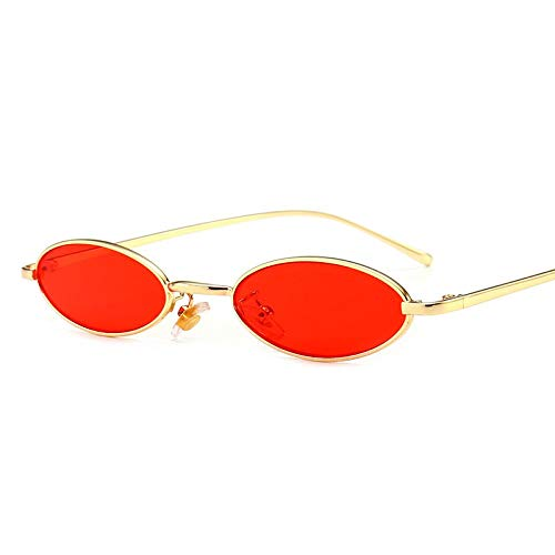 Gafas de Sol Sunglasses Steampunk Gafas De Sol Redondas Mujeres Oval Gafas De Sol Vintage Hombres Gafas De Sol Retro Diseñador De La Marca G