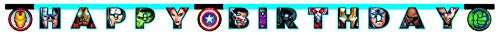 Procos 5PR87972 Happy Birthday Avengers Mighty, bunt, mehrfarbig