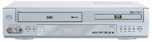 Fantastic Deal! GoVideo DV2150 Progressive Scan DVD Player/4-Head Hi-Fi VCR Combo