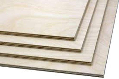1/8' x 12' x 12' Baltic Birch Plywood Great For Laser, CNC, and Scroll Saw. 40pc