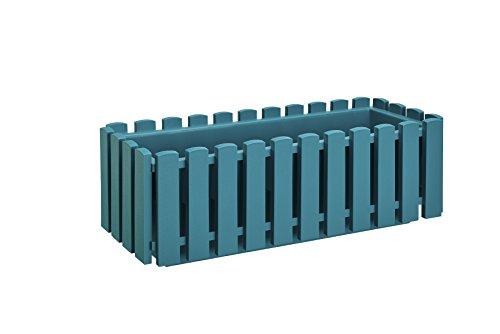 Plastkon Jardinière fency Turquoise 50 cm