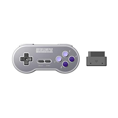 8Bitdo SN30 2.4G Wireless Gamepad for Original SNES/SFC (SN Edition) - Super NES