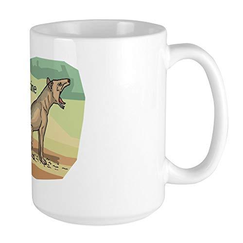 CafePress–Beutelwolf Großer Becher–Kaffee Tasse, groß 15Oz Weiß Kaffee Tasse