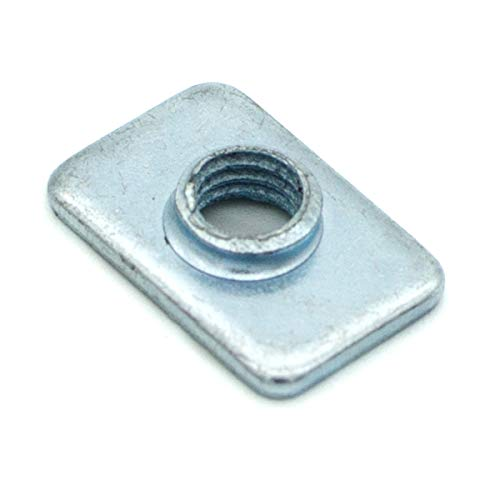Pre-Assembly Square Nuts Flat M5 T Nut for 2020 Aluminum Extrusions Pack of 100