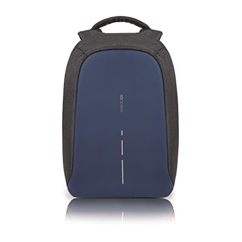 XD Design The Original Genuine Bobby Compact antifurto Zaino Anti Theft Backpack,Diver Blue