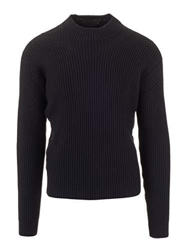 Prada Luxury Fashion Herren UMR450S192IZHF0002 Schwarz Wolle Sweater | Herbst Winter 19