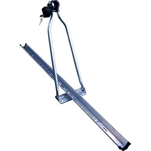 SEVEN POLSKA Lockable Roof Rack for Bicycles, Metal Construction, Easy to Mount. Organizador para Maletas (83 cm, Acero)