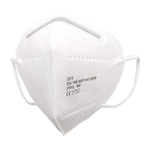 FFP2 Maske CE Zertifiziert (10 Stück einzeln verpackt)