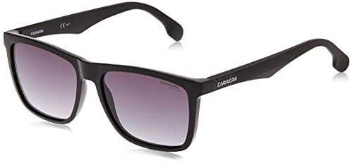Carrera 5041/S 9o Gafas de sol, Negro (Black/Dark Grey Sf), 56 Unisex-Adulto