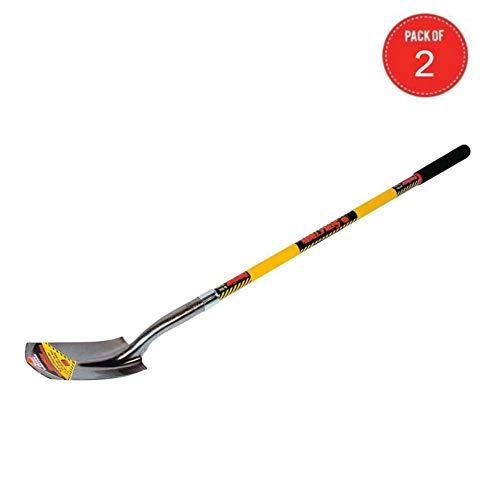 Seymour S702 48-Inch Fiberglass Handle Trenching Shovel (NA - 2 Pack)