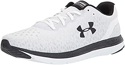 Under Armour Men's Charged Impulse Knit Running Shoe, White (104)/White, 9.5
