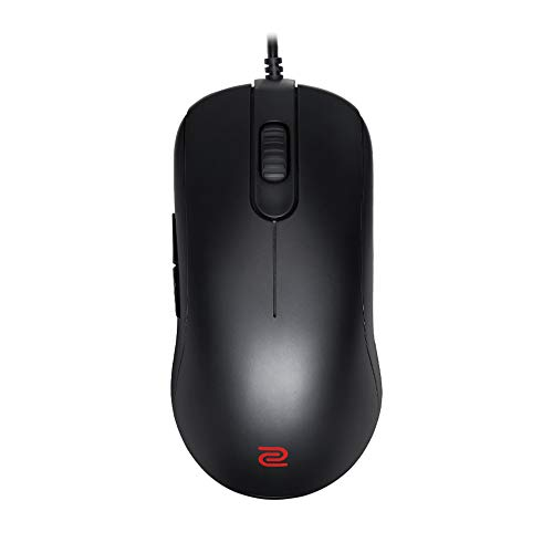 BenQ Zowie FK2-B Symmetrical Gaming Mouse for Esports | Professional Grade Performance | Driverless | Matte Black Coating | Medium Size