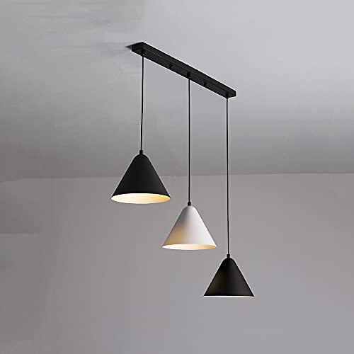 Lámpara De Araña De LED Oficina Lámpara Colgante De Techo Creativa Redonda Simple Moderno Industrial Retro Luces Colgantes Iluminación De Combinación De Empalme Para Restaurante Bar Cocina Comedor