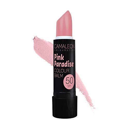 Camaleon Cosmetics, Colour Balm Color Pink Paradise,1 unidad, 4gram