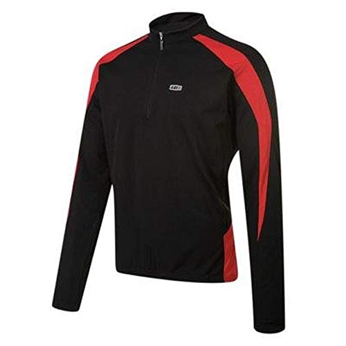 Louis Garneau Montani Jersey - Long-Sleeve - Men's Black/Ginger, XXL