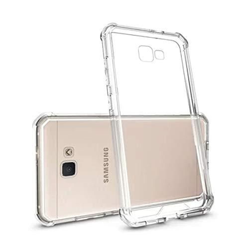 Capinha Silicone Transparente Antichoque Samsung J5 Prime G570
