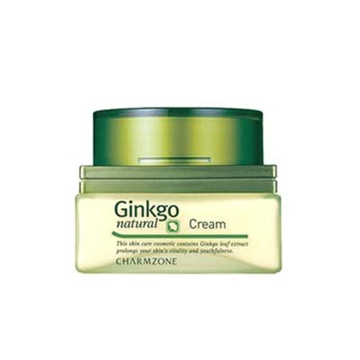 行進状況理容師チャームゾーン Ginkgo natural (ジンコナチュラル) クリーム 60ml