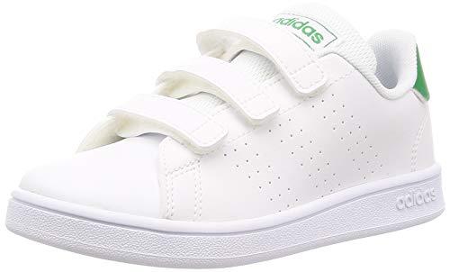 adidas Unisex Kinder EF0223_32 Sneaker, White, EU