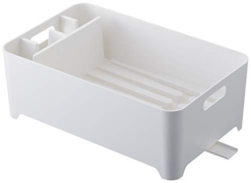 YAMAZAKI Drainer Abtropfgestell, ABS, Weiß, One Size