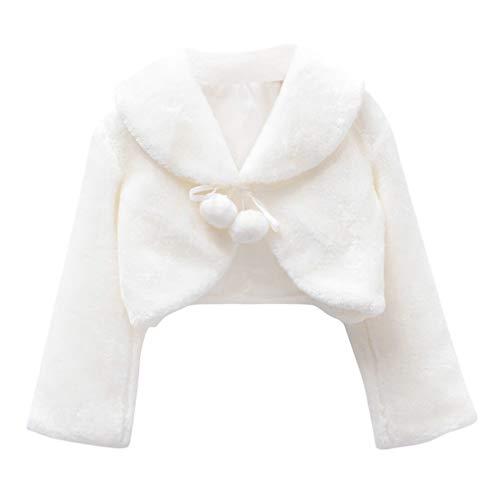 Amosfun Winter Plüsch Kap Tippet niedlichen Mädchen Mantel weiche Blume Kinder Kleid Schal Kinder Leistung Kostüme warmen Umhang für Mädchen