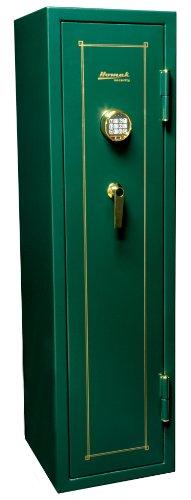Homak HS40231120 12-Gun Electronic Key Pad Lock Safe, Hunter Green, 8.70 Cubic Feet -
