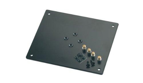 König & Meyer 26792-024-56 Strukturierte Lagerplatte, 240 x 5 x 200 mm, Schwarz