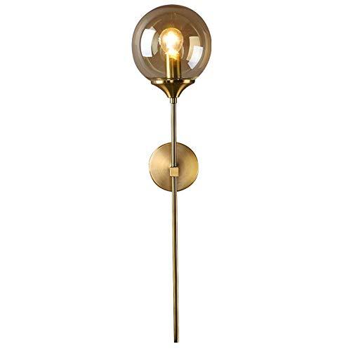 MJZHJD Lámpara de Pared Creativa Caliente Decoración Magic Bean lámpara de Pared de la Sala de Estar la Pared del Dormitorio de la lámpara E14 Luz de Pared (Color : C)