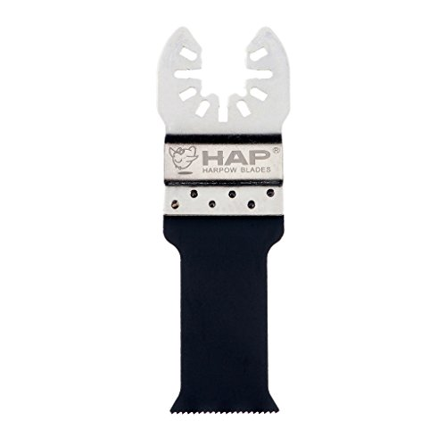 For Sale! Harpow 10 pieces Bi-metal E-cut saw blade With stainless steel holder, 28mm,power oscillat...