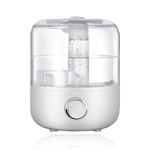 Yoyika 2.5L Humidificador Ultrasónico, Humidificador de Niebla Fría 360° Rotativo con Difusor de Aceites Esenciales, Humidificador de Aire Vapor Frío Silencioso, para Bebés Casa Oficina Dormitorio