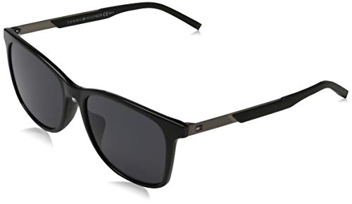 Tommy Hilfiger TH 1679/F/S gafas de sol, NEGRO, 55 para Hombre