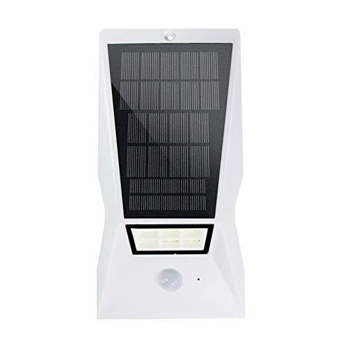Luce Solare, Corpo Umano Induzione Giardino Luci di Sicurezza Solare Via Leggero IP65 Impermeabile All'aperto Guidato Luce del Prato Lampade Solari (Color : White)