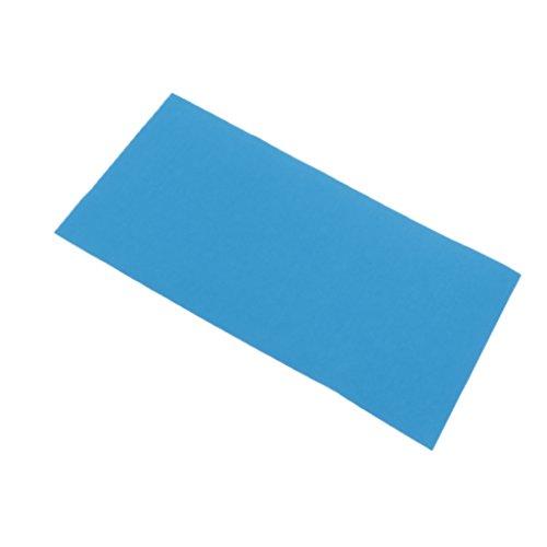MagiDeal Daunenjacke Reparatur Patches Nylon Selbstklebende Patch Für Daunenjacken - Blau