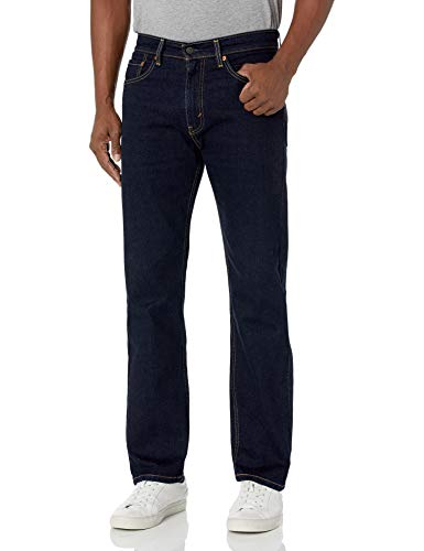 Levi's Herren 505 Regular Fit Jeans, Spülen-Stretch, 36W x 34L