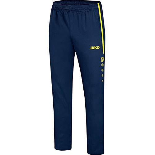 JAKO Striker 2.0 Pantalon Homme, Marine Bleu/Jaune Fluo, XL
