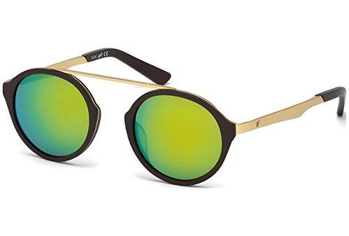 Preisvergleich Produktbild WEB Unisex-Erwachsene WE0147 32Q 49 Brillengestelle,  Gold (OROVerde Specchiato),  49.0