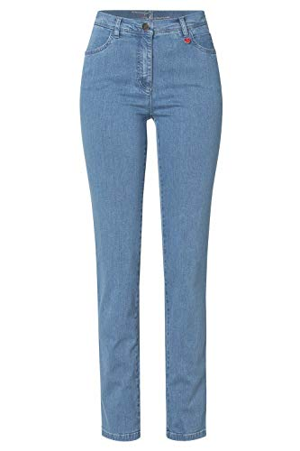 Relaxed by Toni Damen 5-Pocket-Jeans »Meine Beste Freundin« in schmaler Passform 40 Bleached