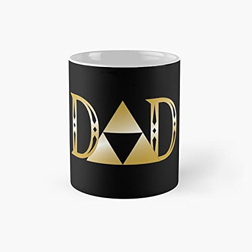 Dad Day Gaming Retro Classic Mug - 11 Ounce For Coffee, Tea, Chocolate Or Latte.