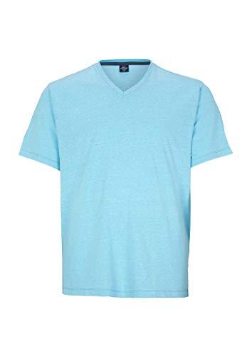 s.Oliver Big Size Herren 131.10.005.12.130.2052190 T-Shirt, Aqua Melange, 3XL