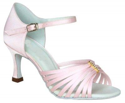 Exclusive Dance Shoes Damen Tanzschuhe rosa, 62 mm Absatz