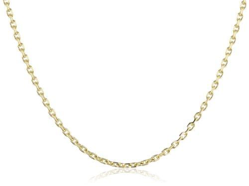 Amor Jewelry Unisex-Halskette 8 Karat 333 Gelbgold 74483