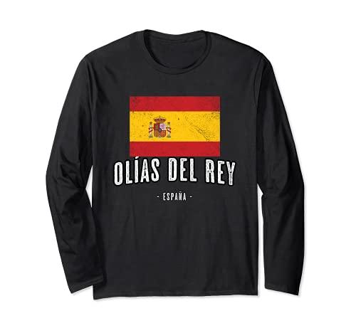 Olías del Rey España | Souvenir - Ciudad - Bandera - Manga Larga