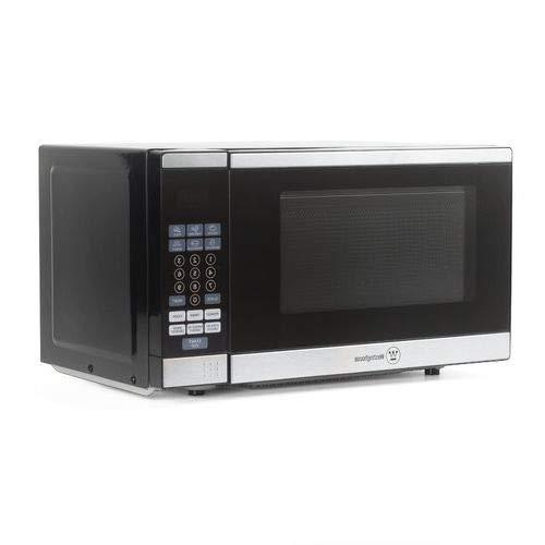 OKSLO 0.7-cu. ft. microwave, black/stainless steel