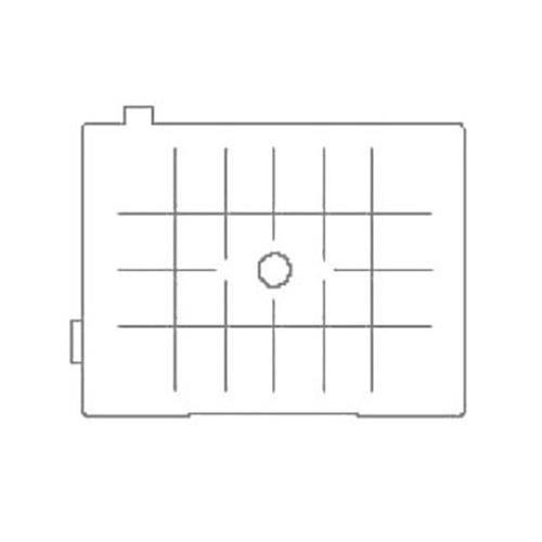 Pentax dg-80–Mattscheibe matt mit Raster für Pentax 645d